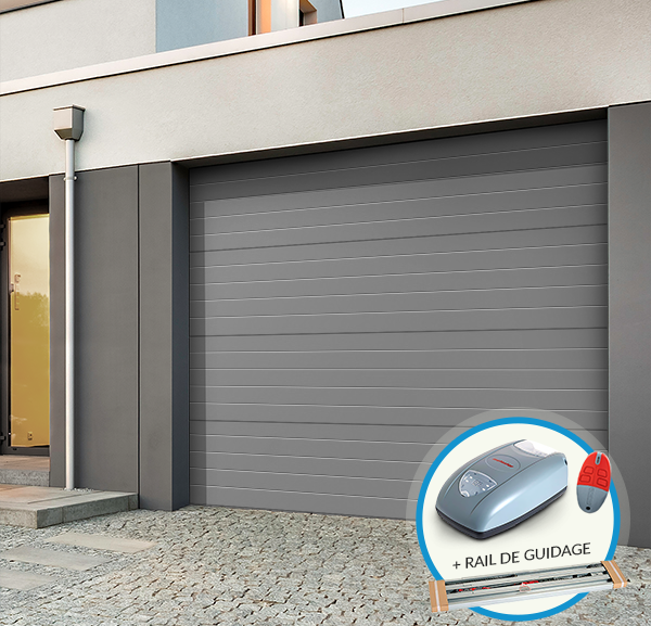 Les pros de la s curit lectrique d couvrez comment - Comment monter une porte de garage ...