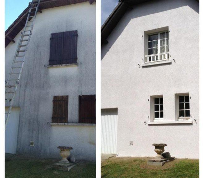 comment nettoyer une façade